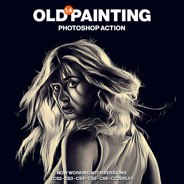Old Painting Photoshop Action