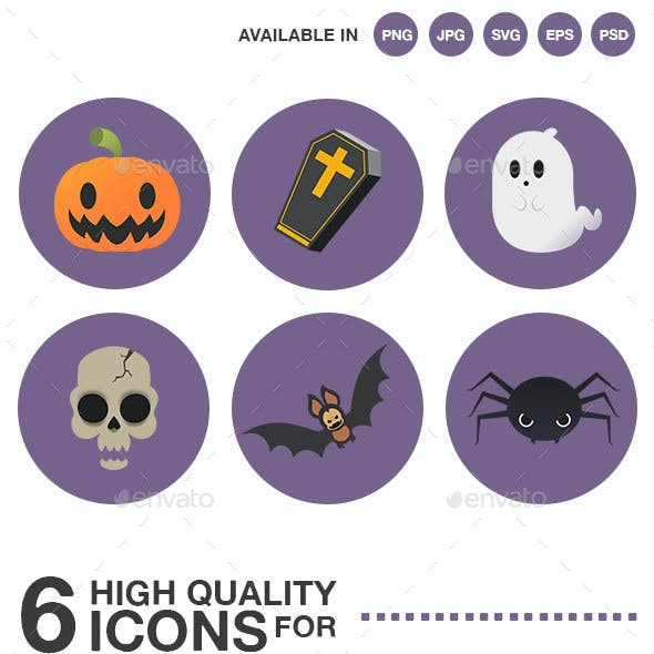 Halloween high quality icon pack