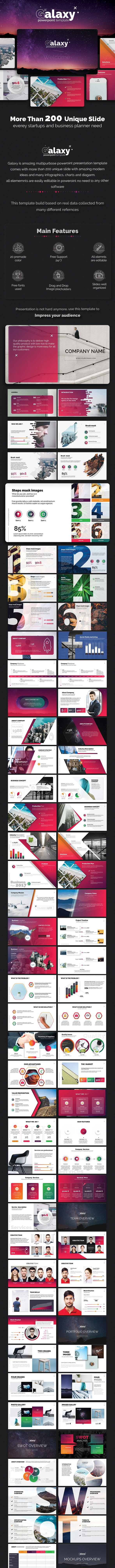 Galaxy PowerPoint Template - Business PowerPoint Templates