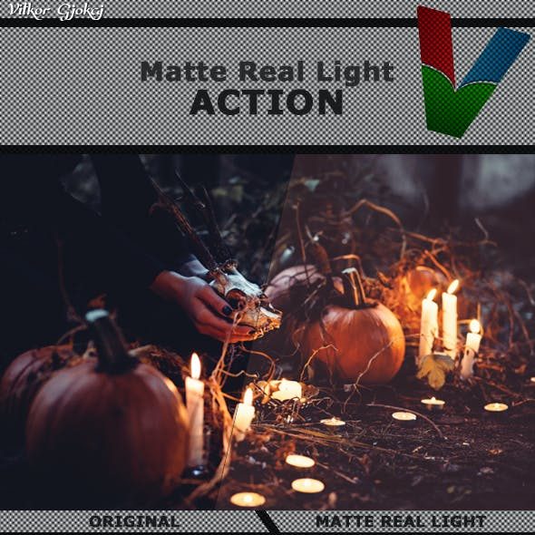 Matte Real Light Action