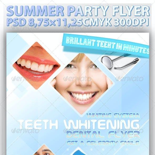 Professional Dental Flyer