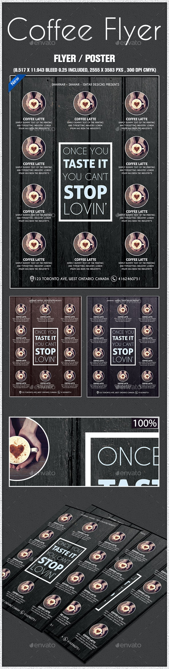 Coffee Poster - Commerce Flyers