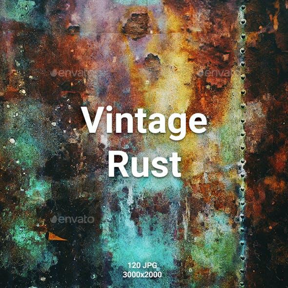 120 Vintage Rust Backgrounds