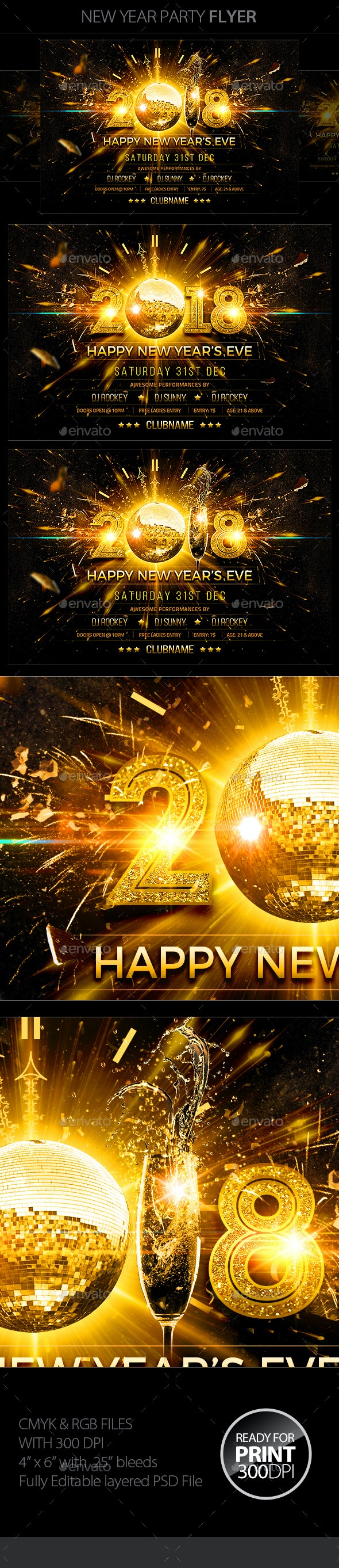 New Year Bash Party - Clubs & Parties Events