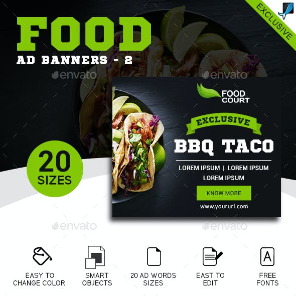 Food Banners