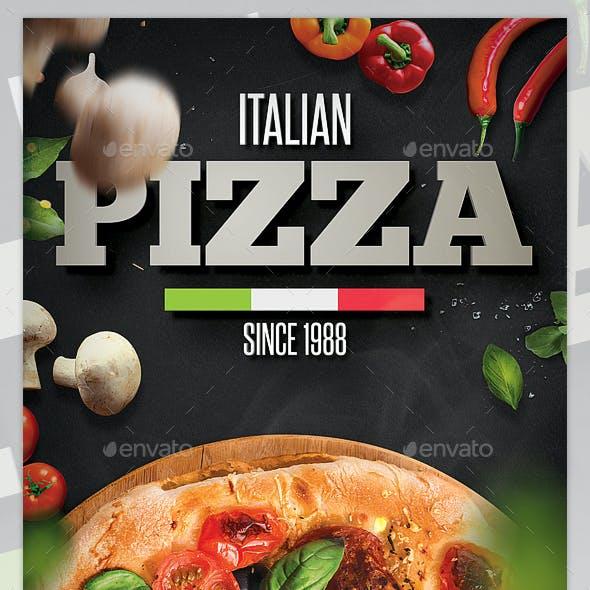 Pizza Flyer / Pizza Menu