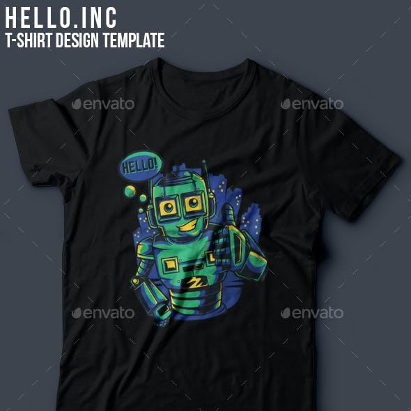 Hello.inc T-Shirt Design