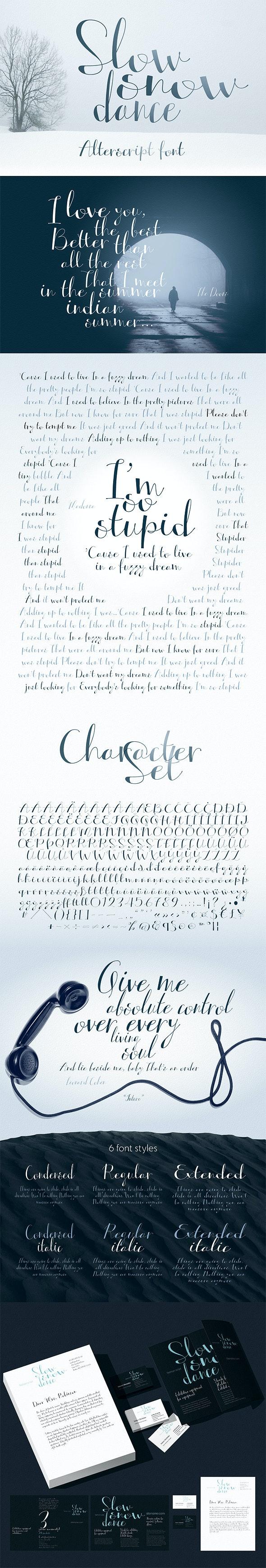 Hight Contrasting Hand Font Alterscript - Calligraphy Script