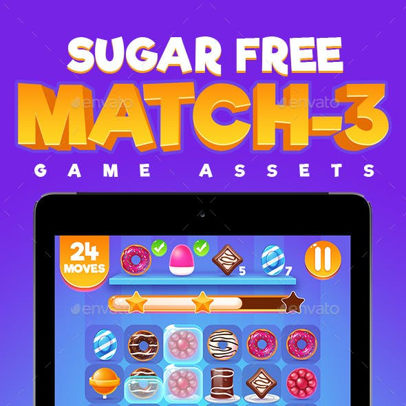 Sugar Free Match 3