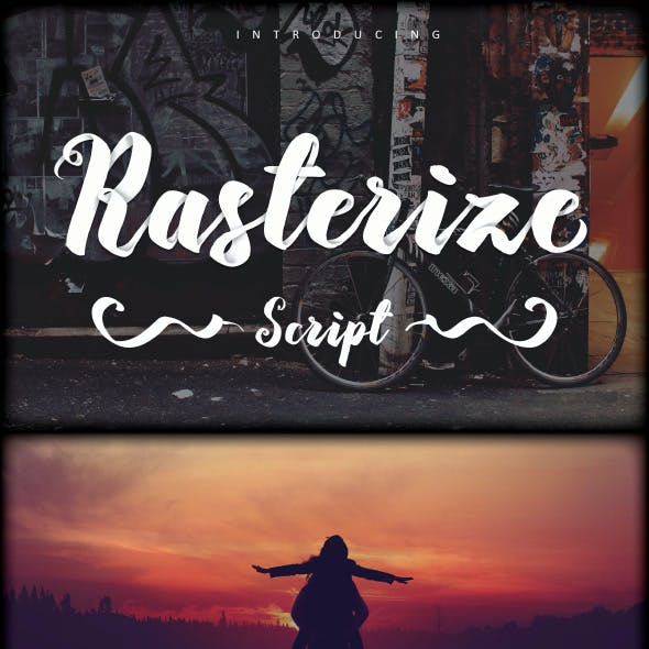Rasterize Script Bold