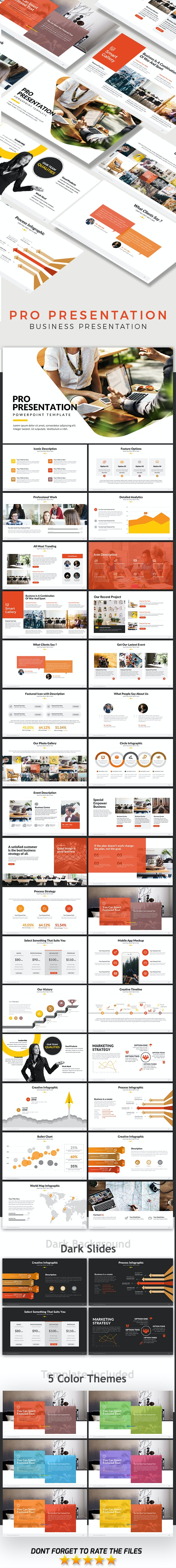 Pro Presentation - Powerpoint Template - Business PowerPoint Templates