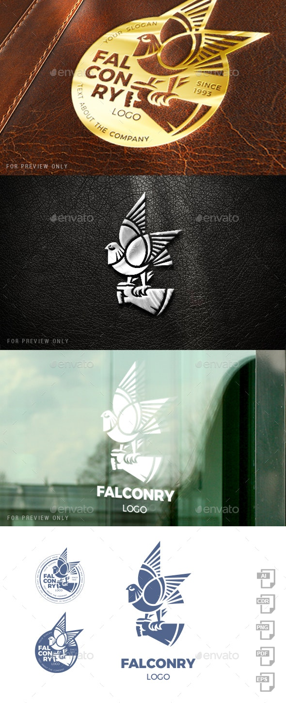 Falconry Logo Template