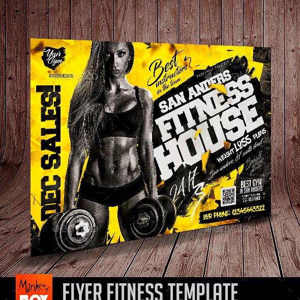 Flyer Fitness Template