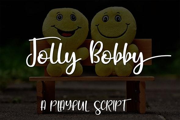 Jolly Bobby - Calligraphy Script