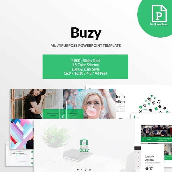Buzy - Multipurpose PowerPoint Template