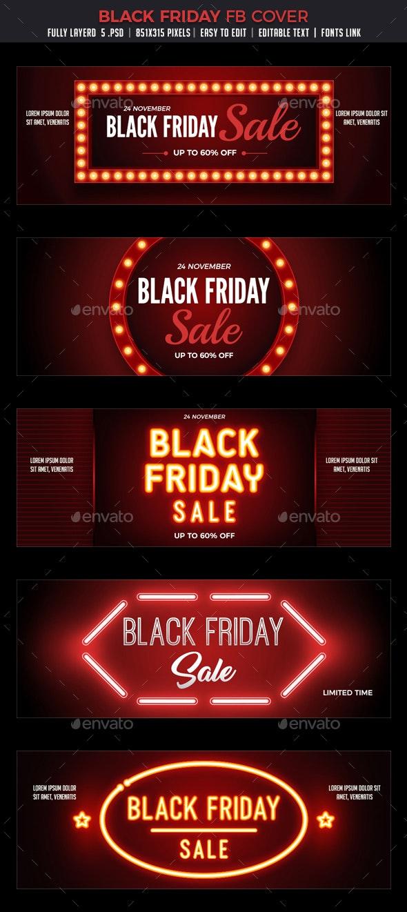 Black Friday Facebook Cover - Facebook Timeline Covers Social Media