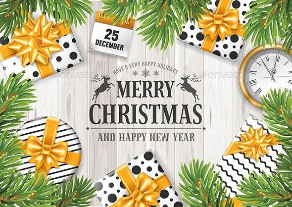 Merry Christmas Greeting - Christmas Seasons/Holidays