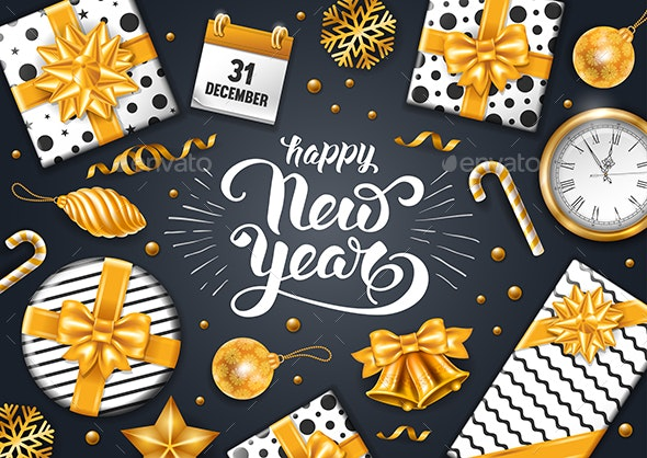 New Year Greeting - New Year Seasons/Holidays