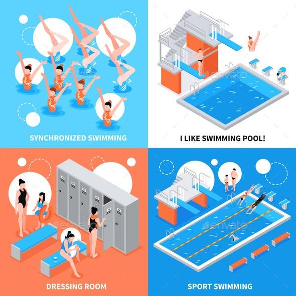 Swimming Pool Design Concept