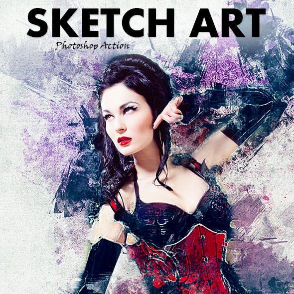 Sketch Art Photoshop Action