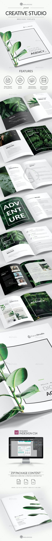 Creative Studio Brochure A4 - Brochures Print Templates
