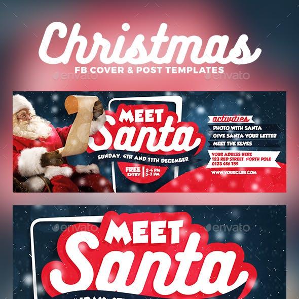 Meet Santa Facebook Cover