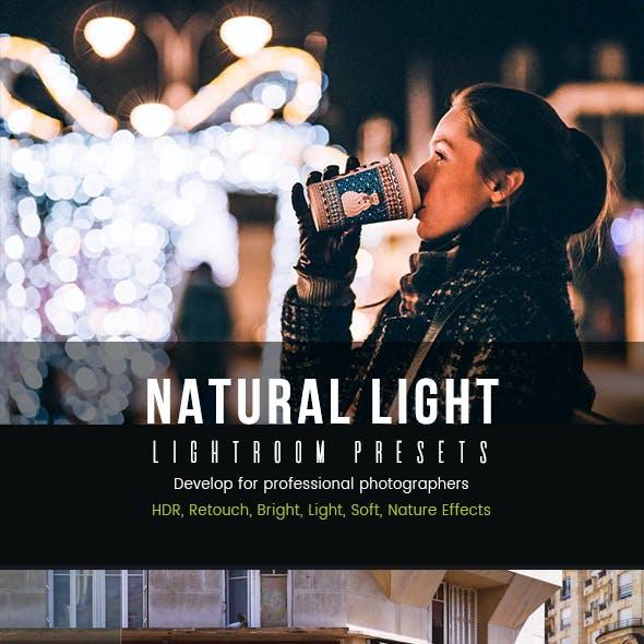 Natural Light Lightroom Presets