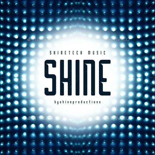 Shine - Music Web Cover Template