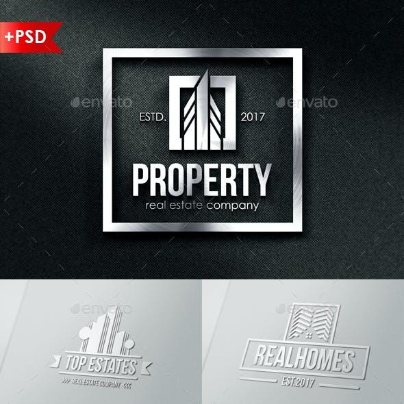Property Real Estate Badges & Logos