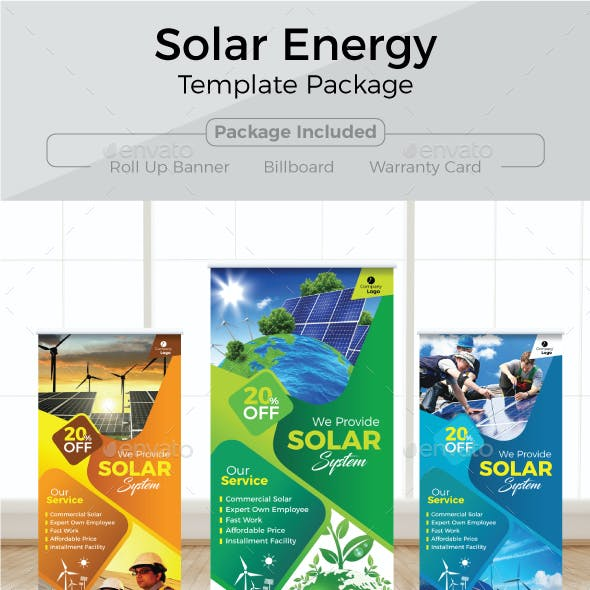 Solar Energy Template Package