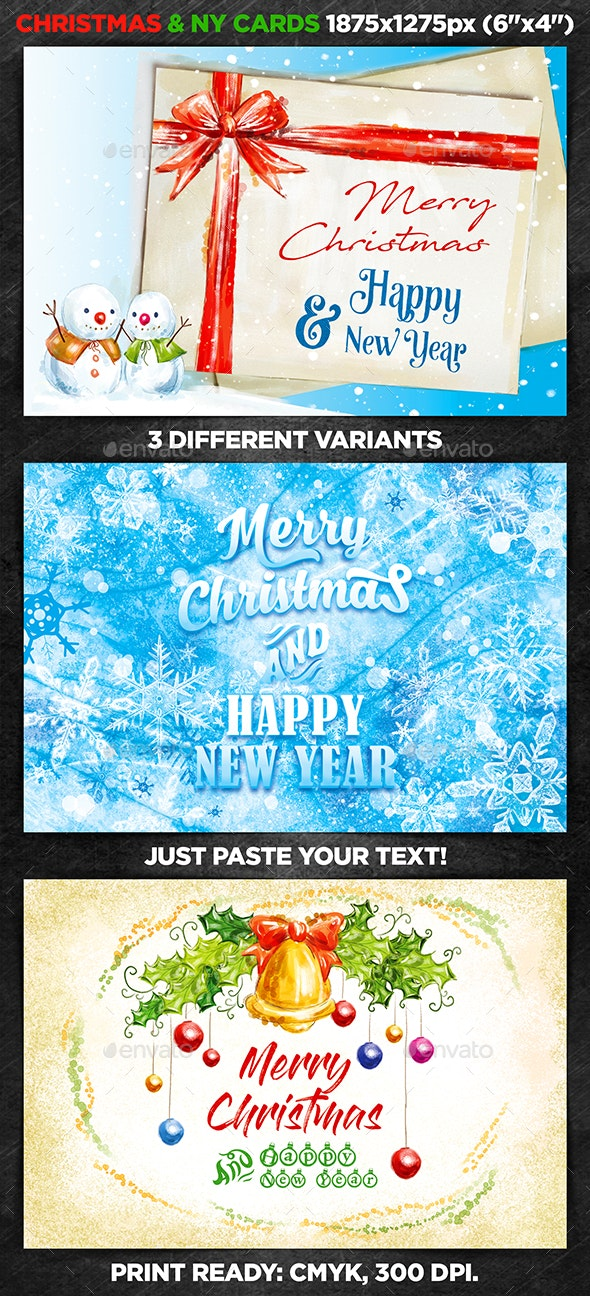 Christmas & New Year Cards vol.3 - Christmas Greeting Cards