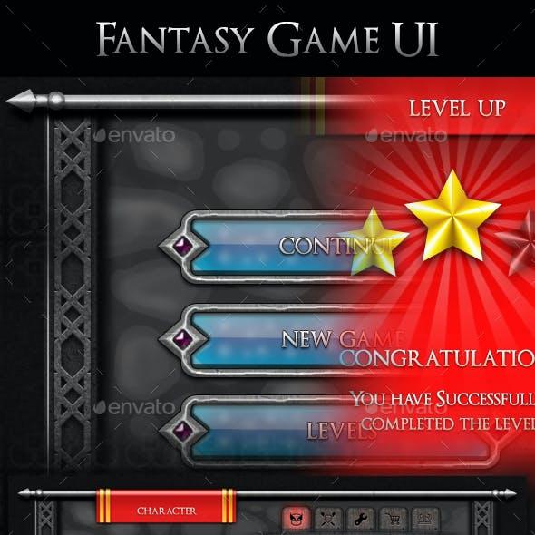 Fantasy Game UI - V2