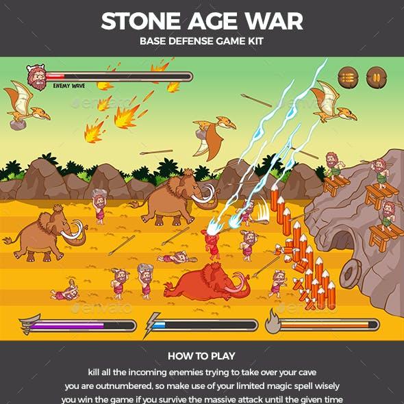 Stone Age War Base Defense