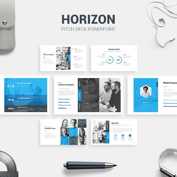 Horizon - Pitch Deck Template