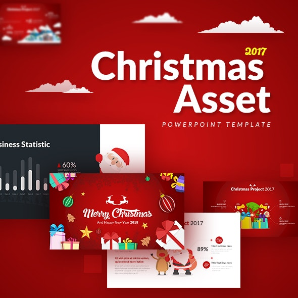 Christmas Asset - Powerpoint Template