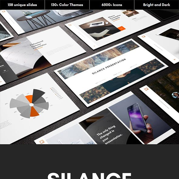 Silance Multipurpose PowerPoint Template