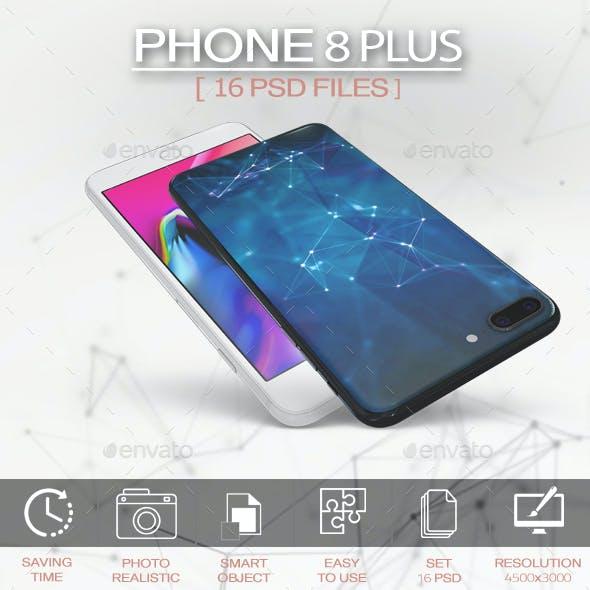 Phone 8 Plus MockUp App & Skin