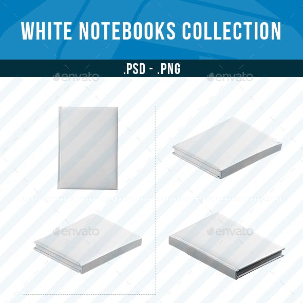 White Notebook Collection
