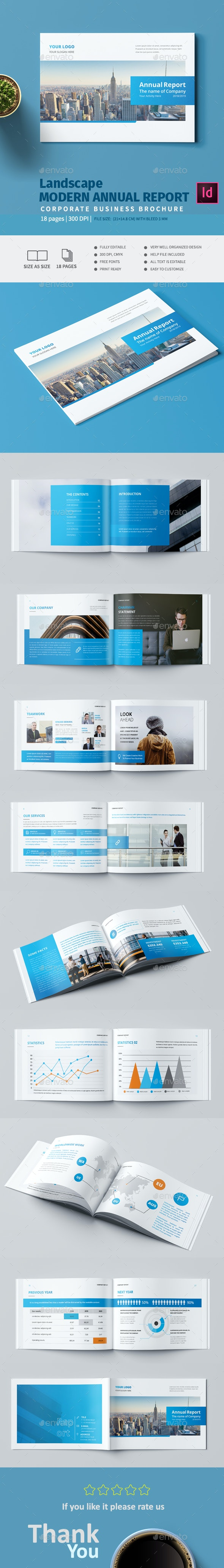 Landscape Modern Annual Report - Corporate Brochures