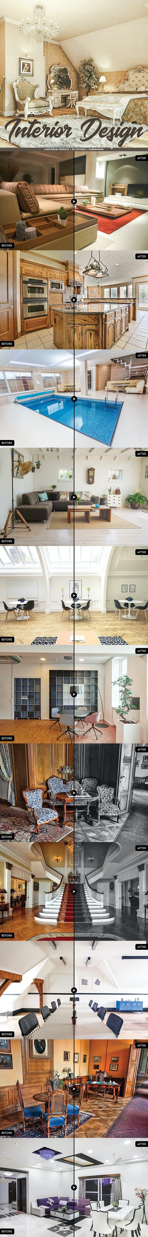 20 Interior Design Lightroom Presets