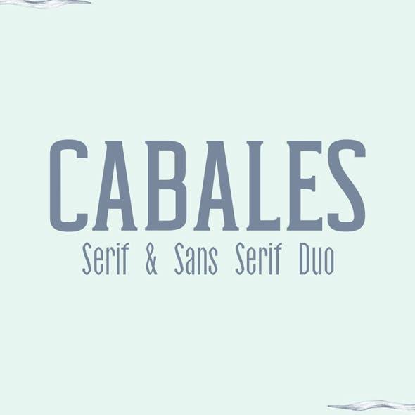 Cabales Duo Font