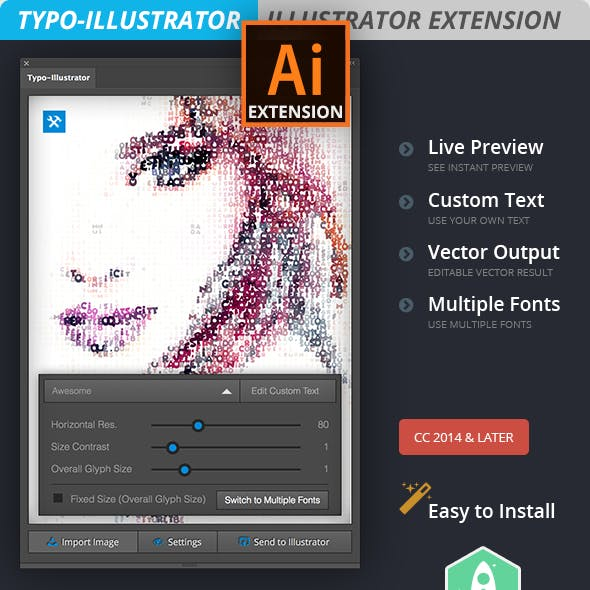 Typo-Illustrator