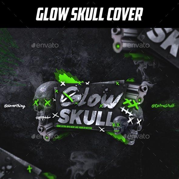 Glow Skull Social Media Gamer Cover