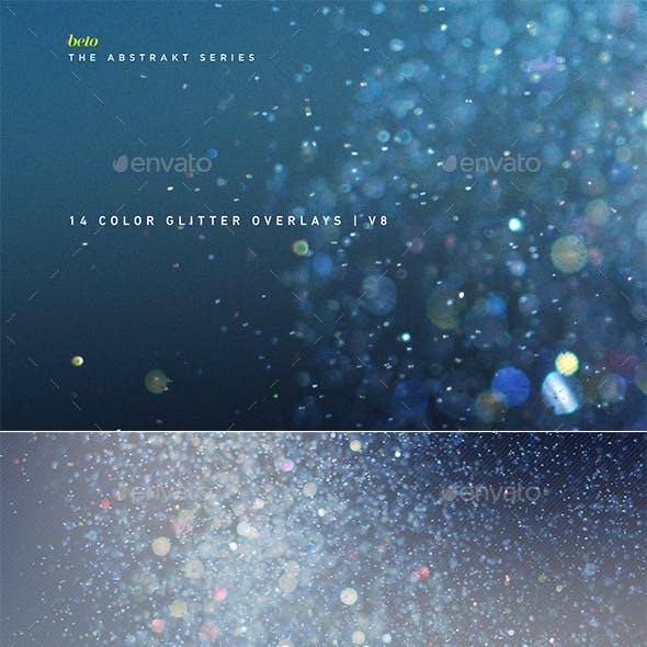 Color Glitter Overlays V8