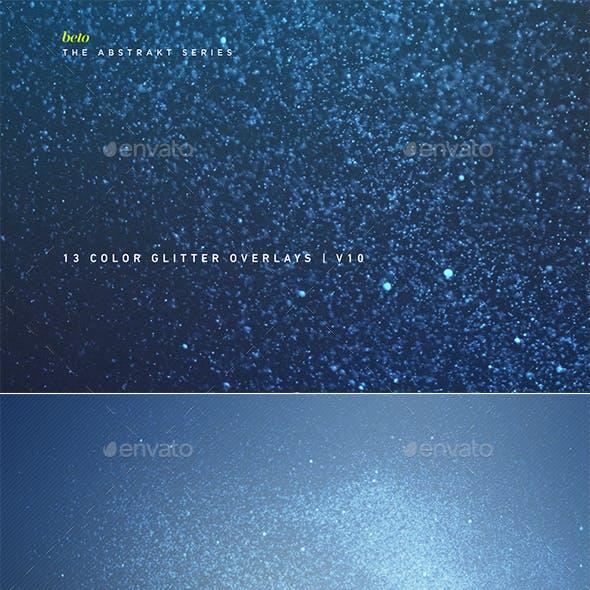 Color Glitter Overlays V10
