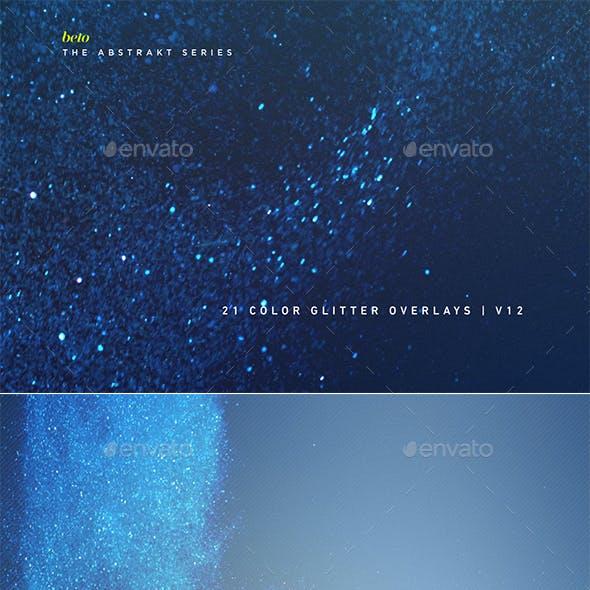 Color Glitter Overlays V12