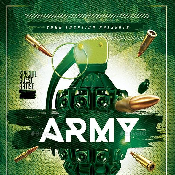 Army Theme Night