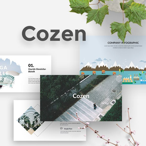 Cozen Creative Powerpoint Template
