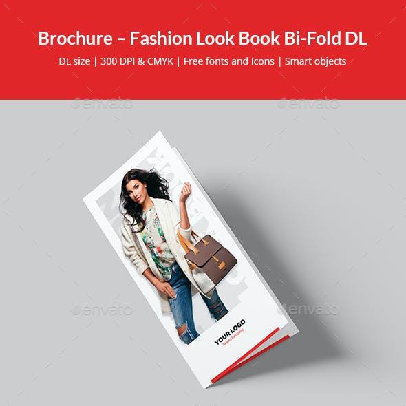 Brochure – Fashion Look Book Bi-Fold DL