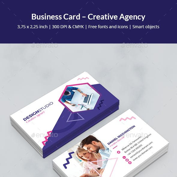 Business Card – Creative Agency